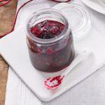 Caramelised cranberry relish