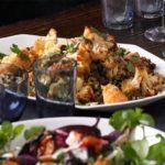 Cauliflower, rice & lentil salad