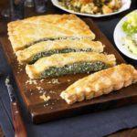 Spinach & ricotta slice