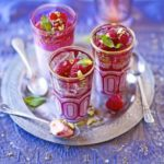 Rose cream & raspberry jellies