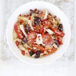 High protein spicy tuna quinoa salad recipe