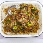 Moroccan chicken couscous with dates