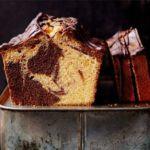 Chocolate orange marble cake