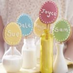 Easter biscuit lollies