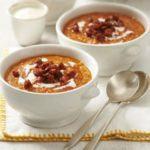 Red lentil & chorizo soup