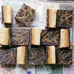 Salted caramel & peanut butter billionaire's slice