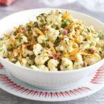 Cauliflower & carrot salad