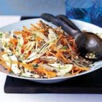 Peppery fennel & carrot salad