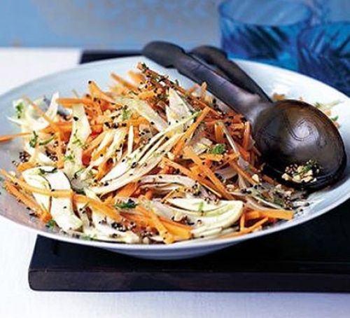 Peppery fennel & carrot salad Recipe