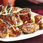 Festive golden five-spice chicken