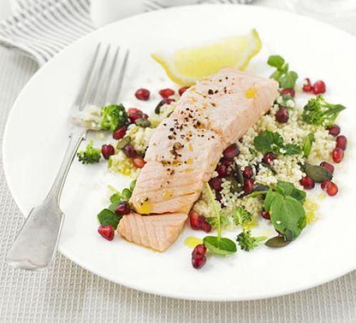 Superhealthy salmon salad Recipe