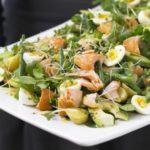 Orzo & mozzarella salad