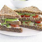 Green club sandwich