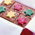Starry toffee cake squares