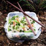 Noodle bowl salad