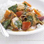 Sweet potato & chicken curry