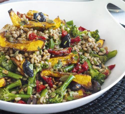 Spiced vegetable pilaf Recipe