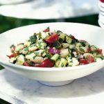 Butter bean & tomato salad
