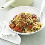 Cherry tomato & caper spaghetti