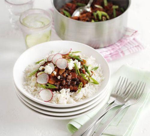 Black bean chilli Recipe