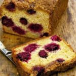 Blackberry & apple loaf