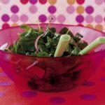 Spinach & watercress salad