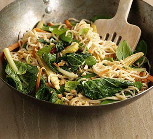 Thai satay stir-fry Recipe