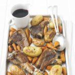 Quick roast lamb