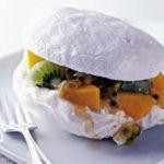 Microwave meringues in minutes