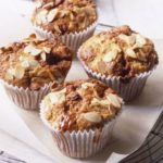 Pear & toffee muffins