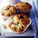 Choc-cherry muffins