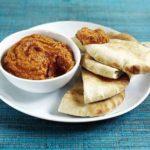 Chickpea & red pepper dip