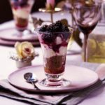 Berry cheesecake in a glass