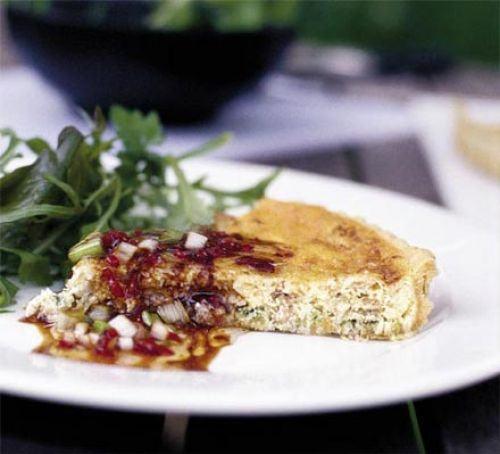 Asparagus & cheese tart Recipe