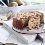 Hazelnut fruitcake