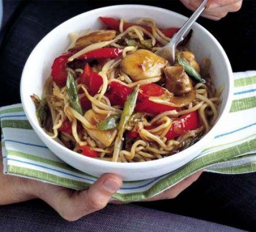 Quick chicken noodles Recipe