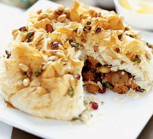 Moroccan spiced pie Recipe