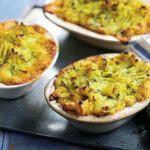 Spiced parsnip shepherd's pies