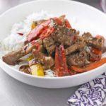 Hot & sour pork & pepper stir-fry