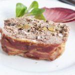Duck & pork terrine with cranberries & pistachios