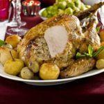 Cider roast turkey
