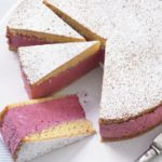 Iced berry mousse cake