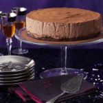Chocolate & chestnut truffle torte