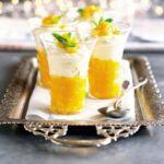 Mango & cardamom syllabub