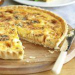 Cheeseboard & onion tart