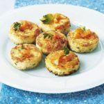 Salmon & lemon mini fish cakes
