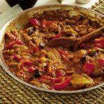 Spicy pork & aubergine