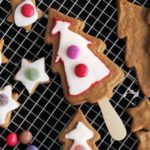 spiced iced christmas trees for kids recipe