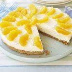 No-bake orange cheesecake