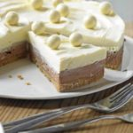 Malt chocolate cheesecake